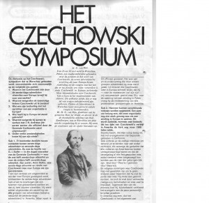 Czechowski Symposium, het, Advent 1976-8 blad 1