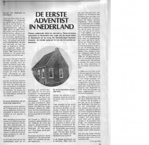 Eerste Adventist in Nederland, De, Advent, 1979-12